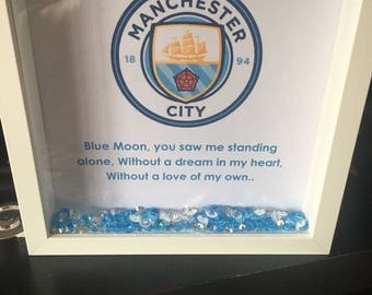 Manchester City Fc box frame