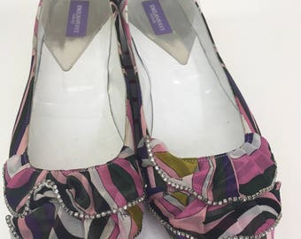 Emilio Pucci flats in Excellent condition
