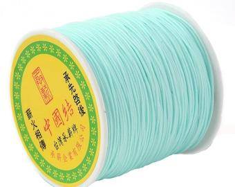 0.5 or 0.8 mm - 10 m Nylon string blue sky
