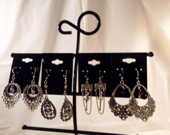 Earrings-4 Pair Set