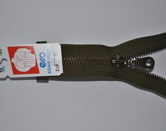 80cm separable Z19 khaki zipper 765 mesh metal bronze