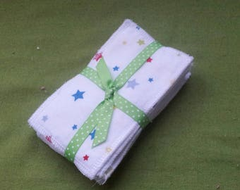 cotton washable wipes, sold by 8