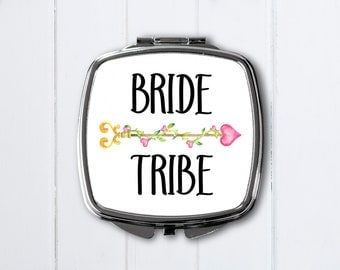Personalized compact mirror-Bridal shower favor-Personalized Bridesmaid Gifts-compact mirror-personalized compact purse mirror-pocket mirror