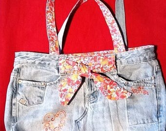 purse jeans recycled 48 by 28cm
