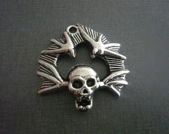 Gothic skull charm