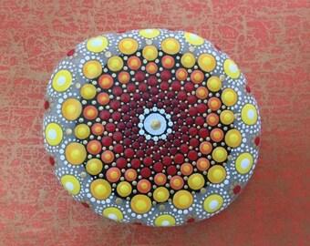 Mandala Stone Sun I