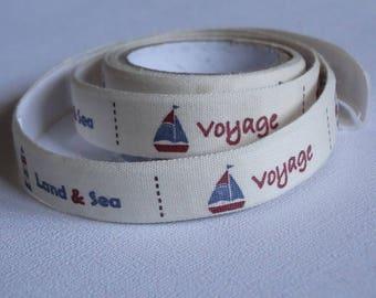 Fabric tape/tape fabric travel vintage