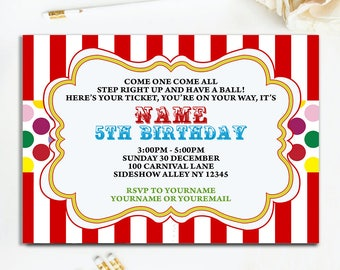 Birthday invitation template etsy editable pdf rainbow polka dot birthday invitation birthday invitation for girls birthday invites stopboris Image collections
