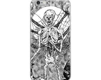 Undead Dark Art iPhone Case