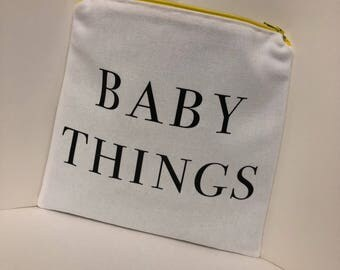 Baby Things Pouch