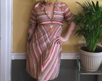 Rainbow Brite 70s Dress