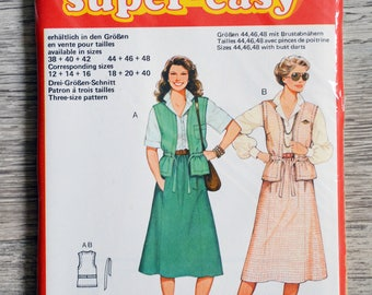Pouch 9442 Burda sewing pattern - Lady set