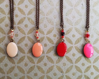 Necklace Little oval M