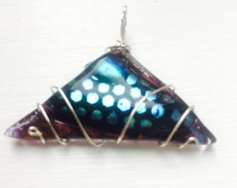 Dichroic Triangle Wrap