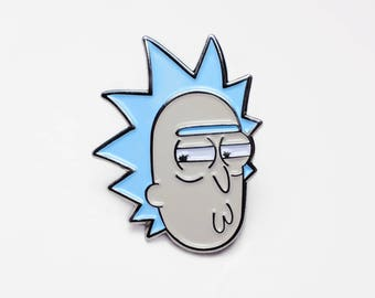 Rick Sanchez Derp - Rick and Morty  Pin