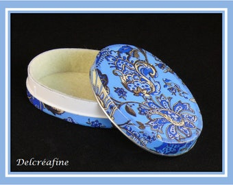 Blue secret, «Baroque flowers» box
