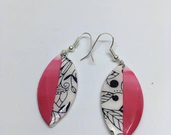 """Earrings """"Pink Lady"""""""