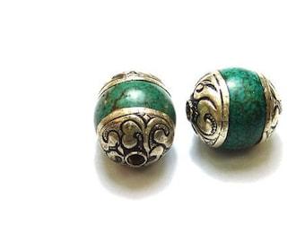 Ethnic Nepalese bead PE74