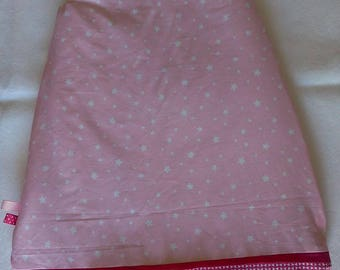 Pink winter sleeping bag