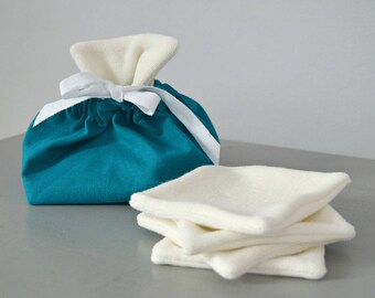 Wipes pouch and washable X 5