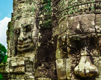 The Bayon, Angkor Thom Art Wall Print