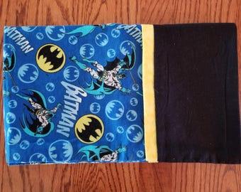 Flannel Pillowcase- Batman