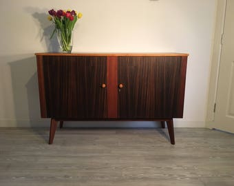 SOLD** Vintage Retro Mid Century Modern Sideboard by Neil Morris for Morris of Glasgow