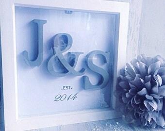 Housewarming gifts,Box Frames, Home Decor, light Up Frames