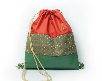 Cogshall drawstring knapsack