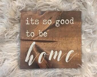 Rustic Home Decor Sign