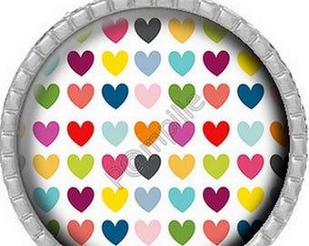 Pendant Cabochon - lots of love (618)