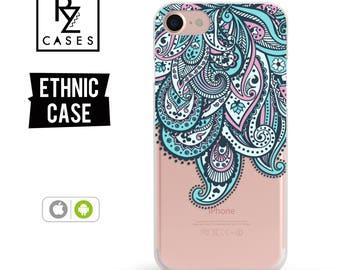 Paisley Phone Case, Ethnic Phone Case, Aztec Phone Case, Swirl, iphone 7, iPhone 7 plus, iPhone 6s, iPhone 5, iPhone 6 Plus, Samsung Galaxy