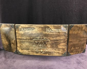 Wooden Dungeon Master Screen