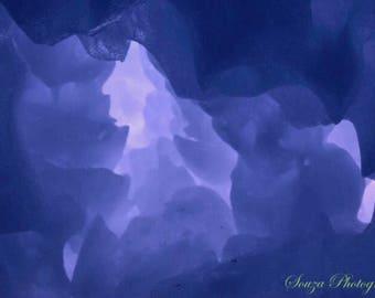 Ice photo print