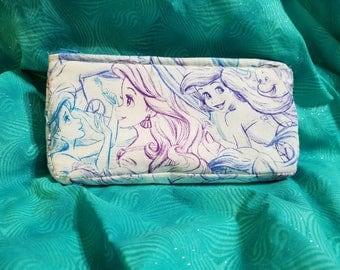 Mermaid makeup bag