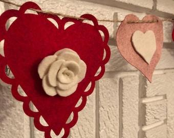 XO Valentine's Day Banner