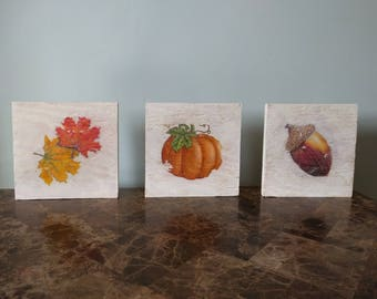Vintage Fall Wall Arrangement