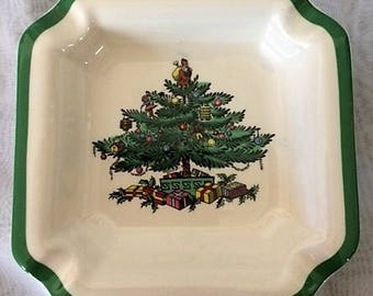 Vintage Spode Christmas Ashtray