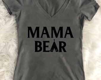 Mama Bear, Mom, Mom Shirt, Mama Shirt