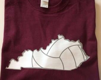 Long Sleeve KY Volleyball shirt