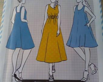 Sewing pattern Cotton + Chalk 10 Zoe Dress new & unused. Sizes 6-20