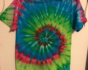 Retro tie dye t-shirt