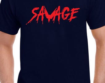 Be Maverick Savage Custom T-Shirt Adult-Youth Sz XS-2XL