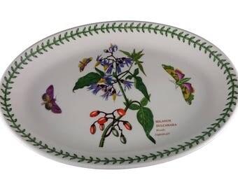 "Botanic Garden (Woody Nightshade design) 10.5"" Platter from Portmeirion"
