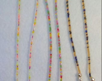 Beaded spectacle glasses/sunglasses chain