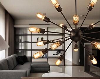 Sputnik chandelier | Etsy