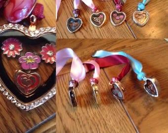 Heart shaped see through locket