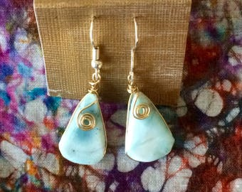 Terquois wrapped earings