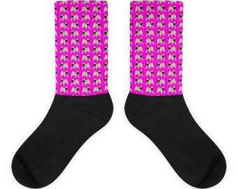Little Pug Socks