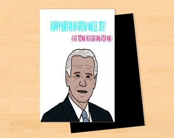 Happy Birthday from Uncle Joe; APRdesignsUSA